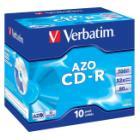 CD médium Verbatim 700MB DLP 10 ks CD médium, 52x, 80min, jewel, 10pack