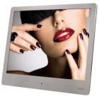 """Digitální fotorámeček Hama Steel Basic Digitální fotorámeček, 8"""" (20,32 cm), 4:3, LED, SD/SDHC/MMC, stříbrný"""