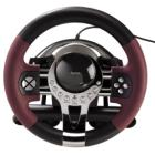Volant Hama Thunder V5 Volant, pedály, pro PC, PS3, USB, černá-červená, kovová