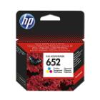 Inkoustová náplň HP 652 (F6V24AE) CMY Inkoustová náplň, originální, pro HP DeskJet Ink Advantage 1115, 2135 All-in-One, 3635, 3835, 4535, 4675, CMY