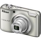 Digitální fotoaparát Nikon Coolpix A10 stříbrný Digitální fotoaparát, kompaktní, 16,1 MPx, 5x zoom, stříbrný