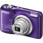 Digitální fotoaparát Nikon Coolpix A10 fialový Digitální fotoaparát, kompaktní, 16,1 MPx, 5x zoom, fialový