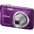 Digitální fotoaparát Nikon Coolpix A100 fialový Digitální fotoaparát, kompaktní, 20,1 MPx, 5x zoom, fialový