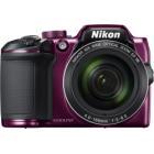 """Digitální fotoaparát Nikon Coolpix B500 fialový Digitální fotoaparát, kompaktní, 16 MPx, 40x zoom, 3"""" LCD, FULL HD, fialový"""