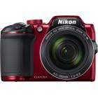 "Digitální fotoaparát Nikon Coolpix B500 červený Digitální fotoaparát, kompaktní, 16 MPx, 40x zoom, 3"" LCD, FULL HD, červený"