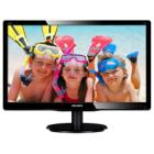"LED monitor Philips 200V4LAB2 19,5"" LED monitor, 19,5"", 1600x900, TFT, 16:9, 5ms, 200cd/m2, DVI, D-SUB, Repro, VESA 100x100, černý"
