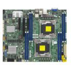 Základní deska Supermicro X10DRL-C  Základní deska, Intel C612, 2x LGA2011-3, 8x DDR4 ECC, 6xSATA3, 8xSAS3 3108 HW, (PCI-E 3.0), 1,2(x16,x8), 2x LAN, IPMI