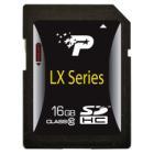 Paměťová karta Patriot SDHC 16 GB Paměťová karta, 16 GB, SDHC, třída 10