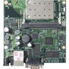 Mikrotik RouterBOARD RB411AR/ 300 MHz/ 64 MB RAM/ 1 x miniPCI/ 1x LAN/ RouterOS L4/ WiFi karta b/g