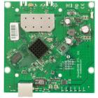 RouterBOARD MikroTik RB911-2Hn RouterBOARD, 64 MB RAM, 802.11b/g/n single, 2,4 GHz, ROS L3, 1 x LAN, 1 x MMCX