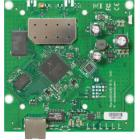 RouterBOARD MikroTik RB911-5Hn RouterBOARD, 64 MB RAM, 802.11 a/n single, 5 GHz, ROS L3, 1 x LAN, 1 x MMCX