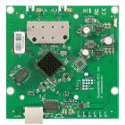 RouterBOARD MikroTik RB911-5HnD RouterBOARD, 64 MB RAM, 802.11a/n, 2 x 2 two chain, 5 GHz, ROS L3, 1 x LAN, 2 x MMCX
