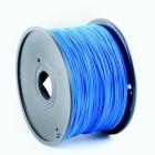 Plastické vlákno Gembird PLA 1,75 mm modré Plastické vlákno, pro 3D tisk, průměr 1,75 mm, hmotnost materiálu 1 kg, modré