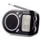 Rádio TOPCOM AudioSonic RD-1519 Rádio, přenosné, černostříbrné