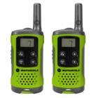 Vysílačka Motorola TLKR T41 2ks zelená Vysílačka, 2 ks, dosah až 4 km, zelená