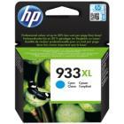 HP inkoustová kazeta 933XL azurová CN054AE originál