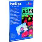 Fotopapír Brother Premium Glossy A4 Fotopapír, 20 listů, A4, lesklý, 260g