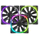 NZXT ventilátor Aer RGB Series / RF-AR140-T1 / 140 mm / 22 – 33 dBA / 4-pin / set 3 ventilátorů