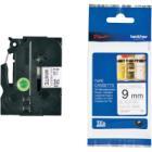 Páska Brother TZE-N221 Páska, nelaminovaná, bílá - černá, 9mm