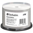 VERBATIM DVD-R 4,7GB/ 16x/ WIDE GLOSSY WATERPROOF/ printable NoID/ 50pack/ spindle