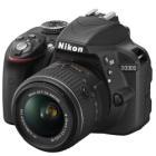 NIKON zrcadlovka D3300 + AF-P 18-55 VR/ černá