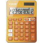 Kalkulačka Canon LS-123K-MOR Kalkulačka, mini, stolní, 12místný displej, oranžová