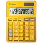 Canon stolní mini kalkulačka LS-123K-MYL/ 12místný displej/ Žlutá