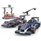 SLUBAN stavebnice Formule F1 Grand Prix, 287 dílků (kompatibilní s LEGO)