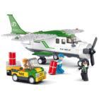 Stavebnice Sluban Přepravní letadlo Stavebnice, 251 dílků, kompatibilní s LEGO