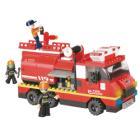 Stavebnice Sluban Hasičský vůz Stavebnice, 281 dílků, kompatibilní s LEGO