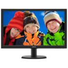"PHILIPS 23,6"" LED 243V5QHABA/ 1920x1080/ VA/ 16:9/ 8ms/ 250cd/m2/ HDMI/ DVI/ D-SUB/ Repro/ VESA"