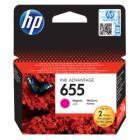 Inkoustová náplň HP 655 (CZ111AE) červená Inkoustová náplň, originální, pro HP Deskjet Ink Advantage 3525, 4615, 4625, 5525, 6525, červená