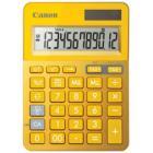 Kalkulačka Canon LS-123K-MYL Kalkulačka, mini, stolní, 12místný displej, žlutá - ROZBALENÉ