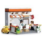 Stavebnice Sluban Restaurace Stavebnice, 134 dílků, kompatibilní s LEGO