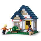Stavebnice Sluban Tělocvična Stavebnice, 204 dílků, kompatibilní s LEGO