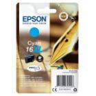Epson inkoustová náplň/ T1632/ C13T16324012/ Singlepack 16XL DURABrite Ultra Ink/ Modrá