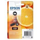 Epson inkoustová náplň/ Singlepack 33 Claria Premium Ink/ Foto Černá