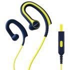 Headset Pioneer SE-E711T-Y Headset, drátový, sportovní, do uší, 106 dB, mikrofon, IPx2, modro-žlutý