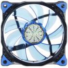 AKASA LED ventilátor Vegas / 120mm / výška 25mm/ 3pin PWM/ modrý