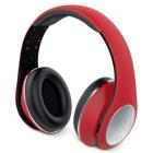 GENIUS headset - HS-935BT/ Bluetooth 4.1/ dobíjecí/ červené