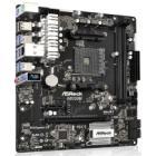 ASRock AB350M / AB350 / AM4 / 2x DDR4 / 1x M.2 / 4x SATA III / mATX