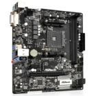 Základní deska ASRock A320M-DGS Základní deska, AMD A320, AM4, 2x DDR4 (max. 32GB), 1x M.2, DVI-D, mATX