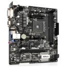 Základní deska ASRock A320M-HDV Základní deska, AMD A320, AM4, 2x DDR4 (max. 32GB), 1x M.2, HDMI, DVI-D, VGA, mATX