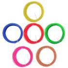 Plastické vlákno Forever pro Happy Pen ABS 6 ks Plastické vlákno, ABS, pro 3D pero Happy Pen, 6x 3 m (červené, modré, zelené, žluté, hnědé, růžové)