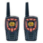 Vysílačka Cobra AM845 Vysílačka, 2ks, profi PMR, 6x nabíjecí baterie AA, 8 kanálů, dosah 10km, černo-oranžová