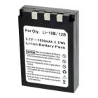 Baterie TRX pro Olympus 1500 mAh Baterie, pro fotoaparáty, 1500 mAh, Li-Ion, pro Olympus Stylus 1000, C-70 Zoom, Mju 410, kompatibilní s baterií Li-10B