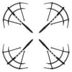 Ochrana vrtule Forever pro dron Vortex DR-300 4 ks Ochrana vrtule, pro dron Forever Vortex DR-300, černá, 4 ks