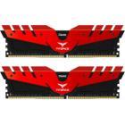 Operační paměť Team T-FORCE Dark Red DDR4 16GB Operační paměť, DDR4, 16 GB (2x 8 GB kit), 2400 MHz, CL14, 1,2V