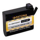 Baterie PATONA kompatibilní s Garmin VIRB Ultra 30 Baterie, pro videokameru, 1030 mAh, Li-lon, kompatibilní s Garmin VIRB Ultra 30