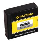 Baterie PATONA kompatibilní s SJCAM SJ6 Baterie, pro videokameru, 910 mAh, Li-Ion, kompatibilní s SJCAM SJ6